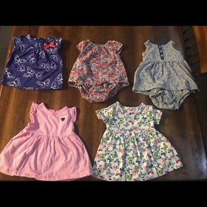Baby dresses.